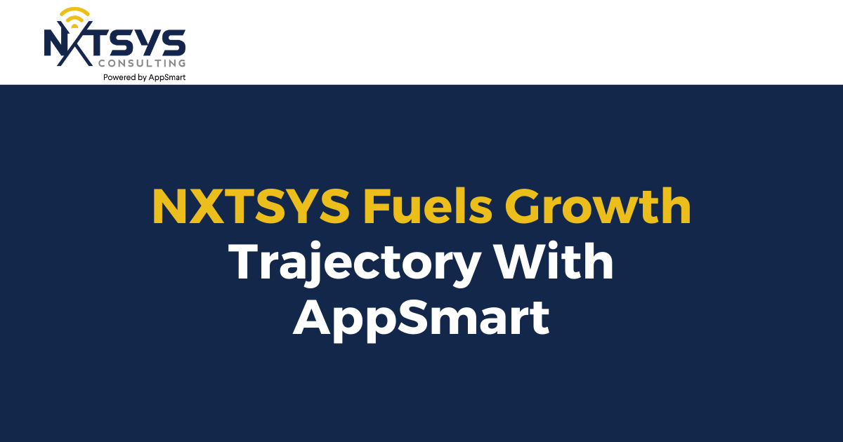 NXTSYS Fuels Growth Trajectory With AppSmart